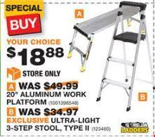 home depot step stool black friday going to the bathroom frequently crowdbuild for