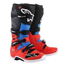 size 6 motocross boots alpinestars racing tech 7 mx off road dirt bike atv quad motocross