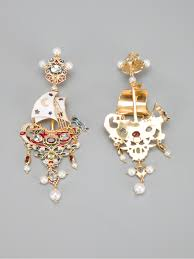 percossi papi earrings percossi papi galleon earrings in metallic lyst