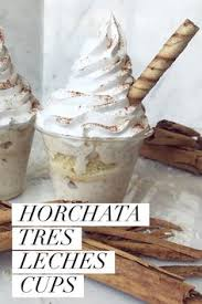 horchata tres leches from el bolillo bakery in houston tx