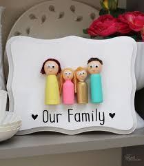 Diy Craft For Home Decor Peg Doll Family Kids U0027 Craft The Creative Corner 70 Diy Craft