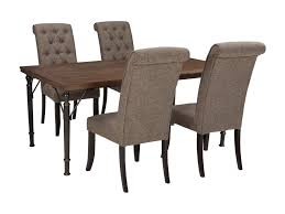 ashley dining room table signature design by ashley tripton 5 piece rectangular dining room