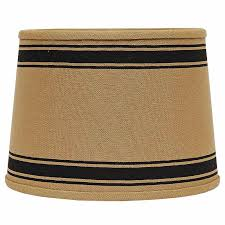 black drum l shade 10 inch bella trace black stripe l shade by raghu the weed patch