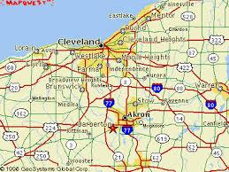 ohio map of cities map of northern ohio my