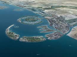 gis dubai made island nears completion