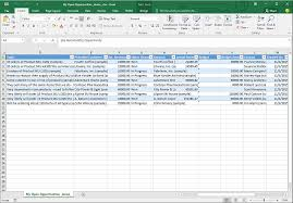 How To An Excel Template Analyze Your Data With Excel Templates Microsoft Dynamics 365