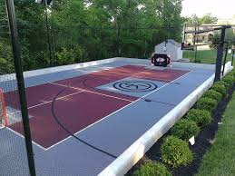 Half Court Basketball Dimensions For A Backyard by Ten Reasons To Buy Sport Court Sport Court