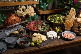 buffet cuisine design melbourne wedding caterer ed dixon food design polka dot