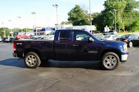 2009 gmc sierra sle blue used 4x4 truck sale
