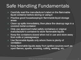 what should be stored in a flammable storage cabinet flammable and combustible liquids ppt video online download