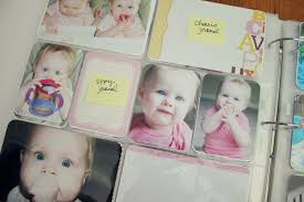baby photo albums caylin s baby album part 3 one happy