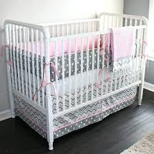 Grey Chevron Crib Bedding Set Chevron Print Baby Bedding Grey Navy Aqua Green Chevron Crib Skirt