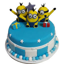 birthday cake minion birthday cake decorations