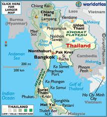map of thailand thailand map map of thailand worldatlas