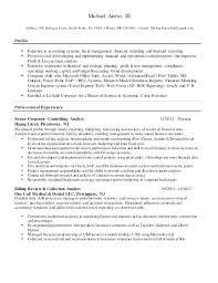 financial analyst resume exle sr financial analyst resume