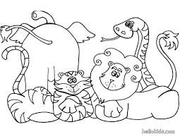 african animals coloring pages getcoloringpages com