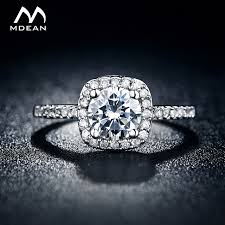 aliexpress buy new arrival white gold color aaa mdean wedding rings for women white gold color jewelry rings