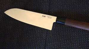 Kai Kitchen Knives by Kai Seki Magoroku Red Wood Santoku Youtube