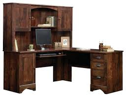 Computer Desk With Hutch Cherry Sauder Desk With Hutch Harbor View Corner Computer Desk With Hutch
