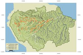 Map Of The Amazon River Scientists Produce A New Roadmap For Guiding Development And