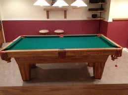 how to refelt a pool table video brunswick billiards scottsdale 7 pool table excellent condition
