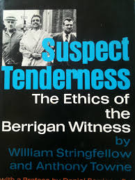 experimental theology the william stringfellow project suspect