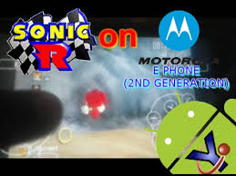 r for android sonic r in uoyabause sega saturn emulator for android on moto e