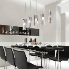pendant light modern contemporary island chrome feature for