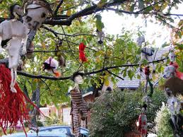 Outdoor Halloween Decorations by Scary Outdoor Halloween Decorations Ideas Scary Outdoor