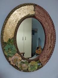 cornice legno da decorare voglio creare cornice specchio decorata di russo