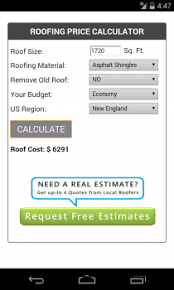 Roof Estimate by 8 Best Roofing Apps For Android And Iphone