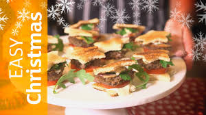 star mini burgers easy christmas party food sainsbury u0027s youtube