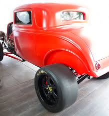 ferrari custom custom 1932 ford with a twin turbo ferrari v8 engine