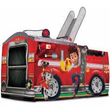 fire truck invitations playhut nickelodeon paw patrol marshall u0027s fire truck play tent