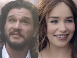 Wildfire Dance by See U0027game Of Thrones U0027 Stars Emilia Clarke And Kit Harington In New