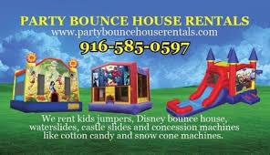 party rentals sacramento bounce house rentals sacramento party bounce in sacramento other