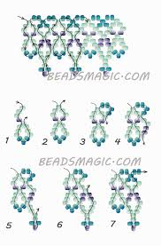 free pattern for beaded necklace welkin beads magic