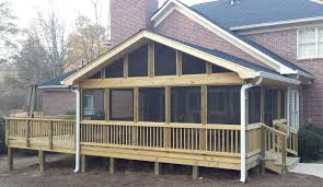 screen porch roof porch builder contractor archadeck of central ga