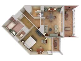 wa grand wailea 3d floor plans