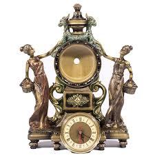 amazon com frisby victorian style clock statue figurine in home