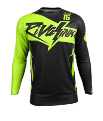 motocross jersey custom premium fit custom sublimated jersey saber neon rival ink