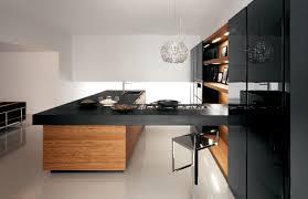 modern black kitchen cabinets yara kitchen in black lacquer cesar nyc kitchens modern
