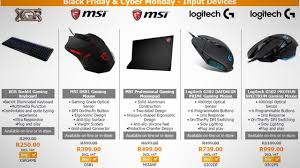 black friday gaming computer best black friday tech and gaming deals in south africa
