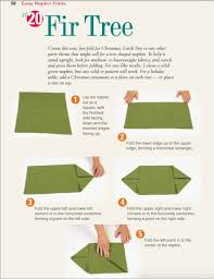 fir tree napkin fold how to fold your napkin like a fir tree for