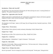 book outline template 9 download free documents in pdf word