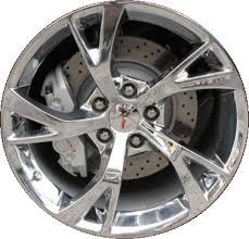 chrome corvette wheels aly98738 98739u85 chevrolet corvette wheel chrome
