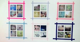 how to hang picture frames that have no hooks wall photo collage without frames creative ways hang without frames
