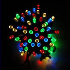 solar christmas lights solar christmas colorful string lights 100 led