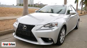 first lexus first drive lexus is 200t 2016 youtube