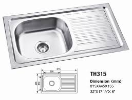 stainless steel kitchen sink sizes the builders market kitchen sinks